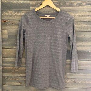 Gap 3/4 Sleeve Shirt